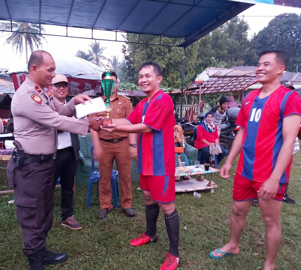 Photo of Pop Polres Tanah Datar Juara Open Turnamen Old Star Kapolsek Cup I 2019